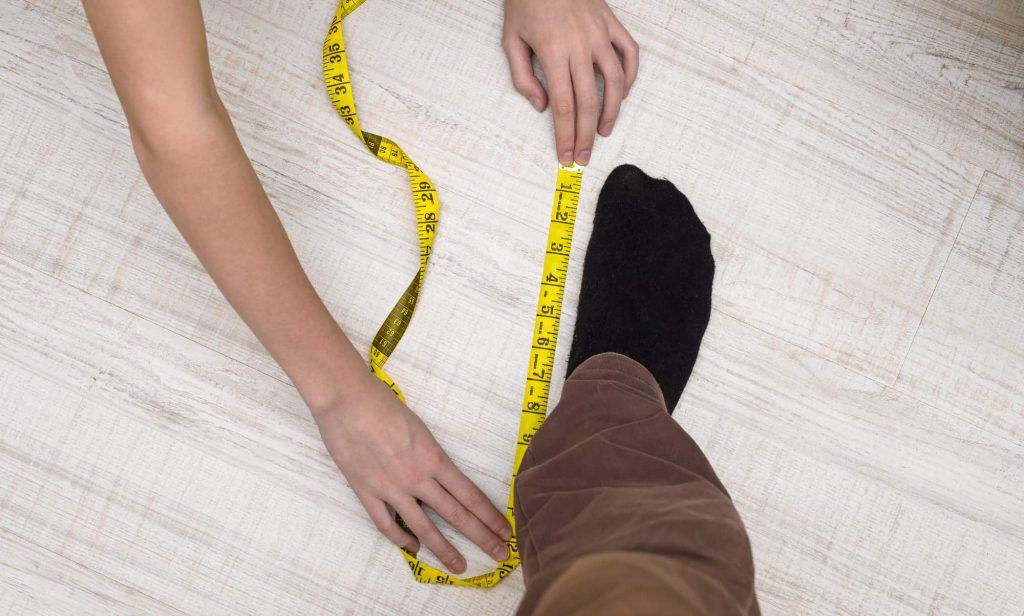 how to measure your feet right