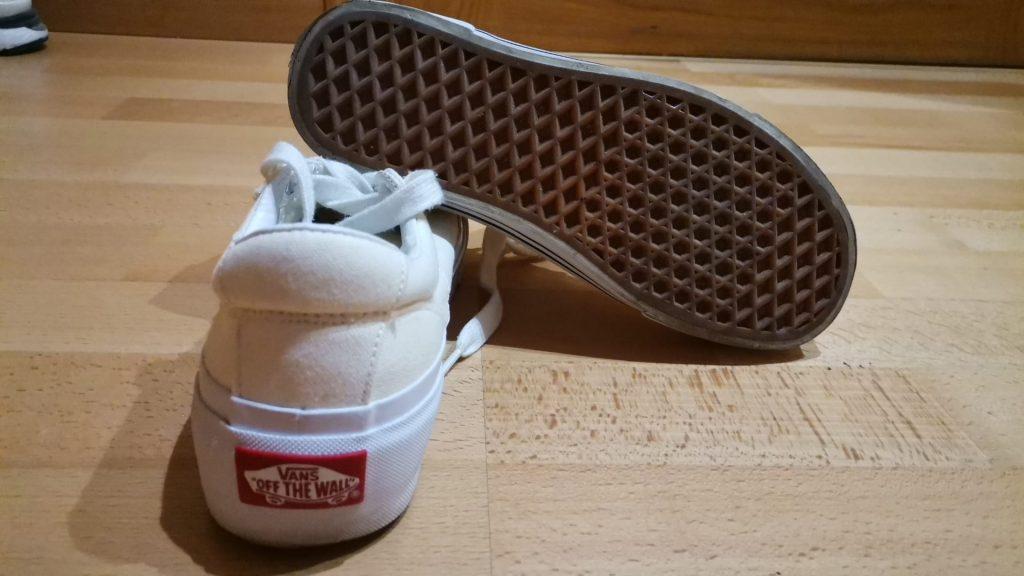 vans rubber sole