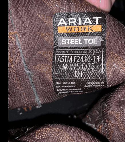 where are ariat boots manufactured 1