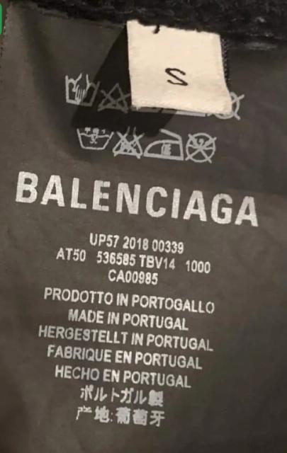 Is Balenciaga Made In Portugal