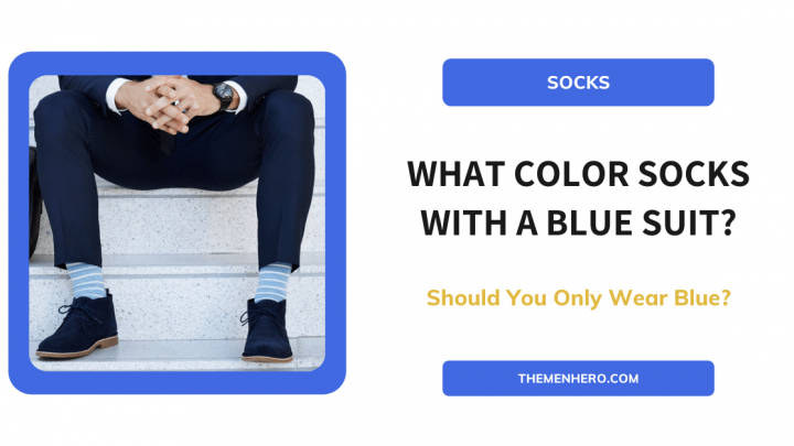 What Color Socks With Blue Suit