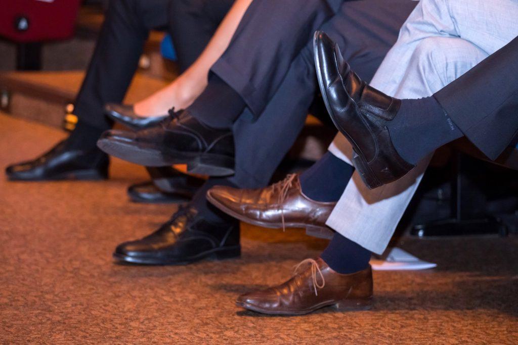 how to match dress socks