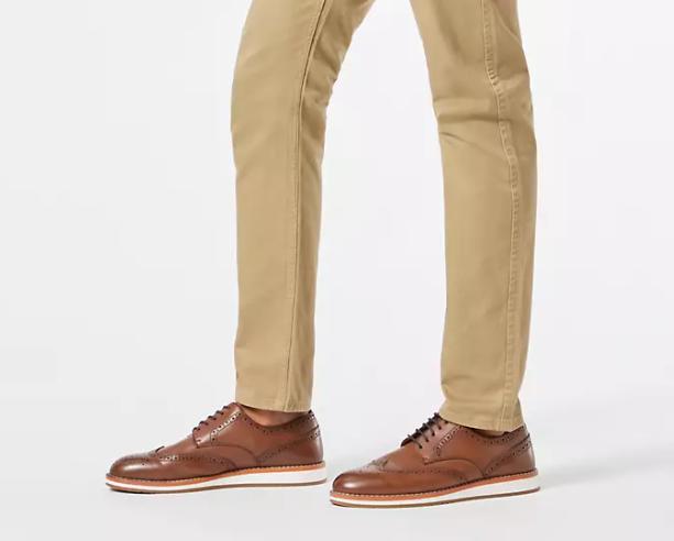 what color socks with khaki pants