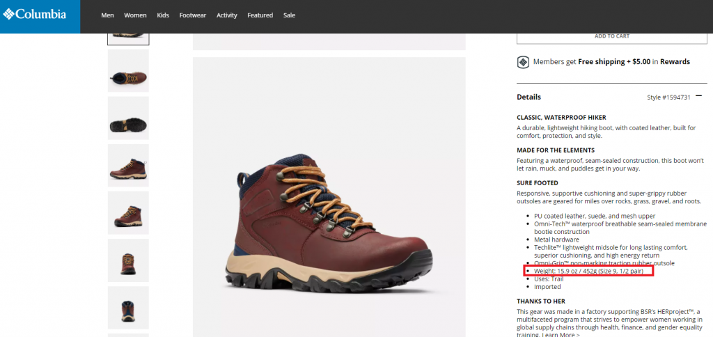 How Much Do Hiking Boots Weigh