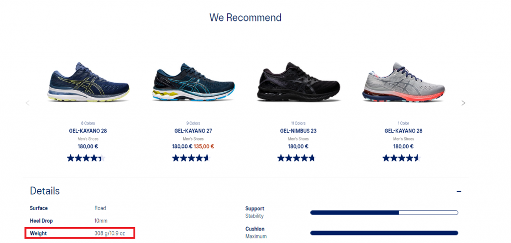 How Much Do Running Shoes Weight