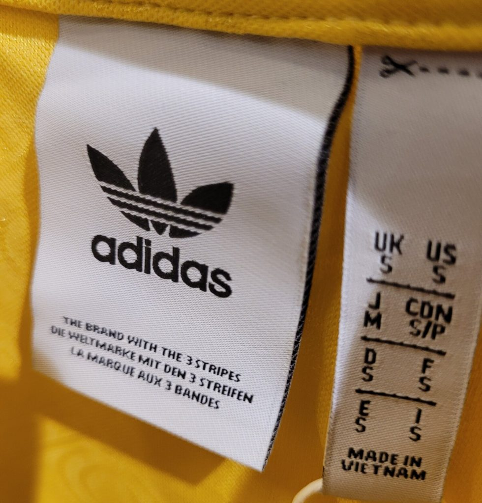 Is Adidas Made In Vietnam