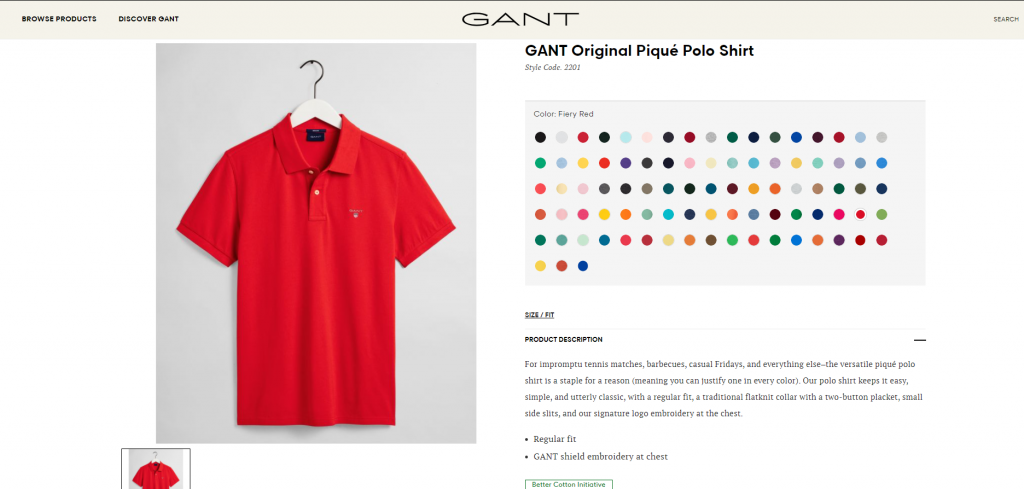 Is Gant Made In The US