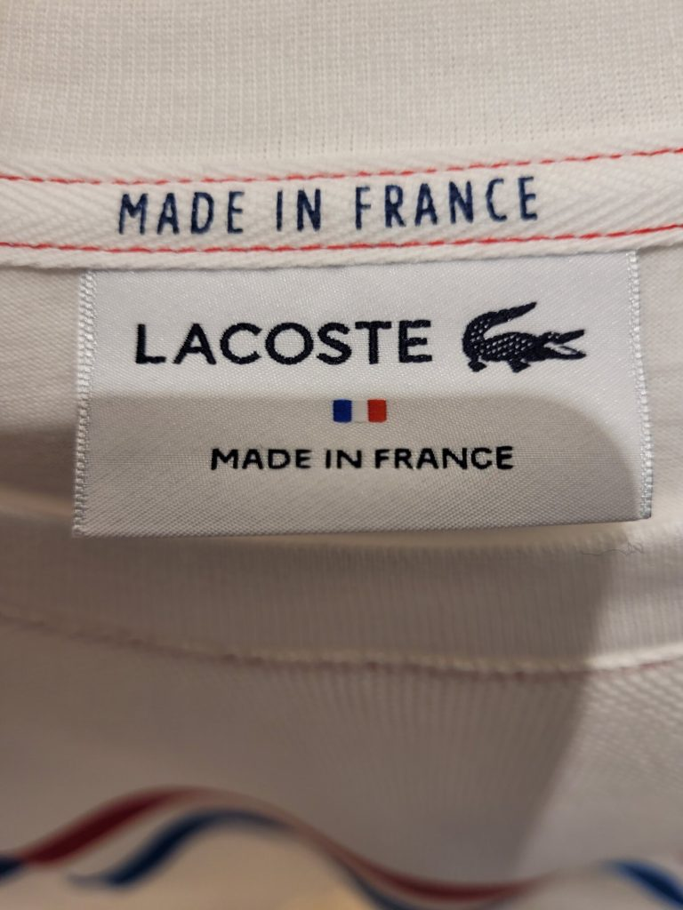 Is Lacoste Made In France