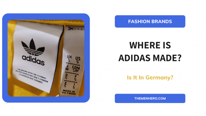 Where Is Adidas Made