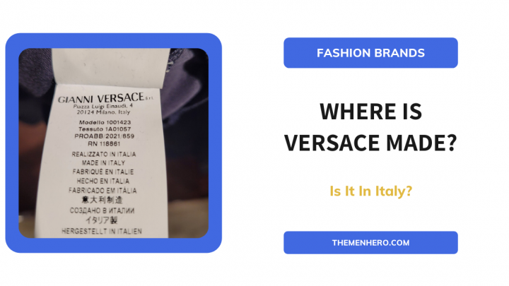 Where Is Versace Made