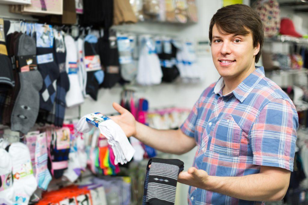 polyester socks vs cotton socks