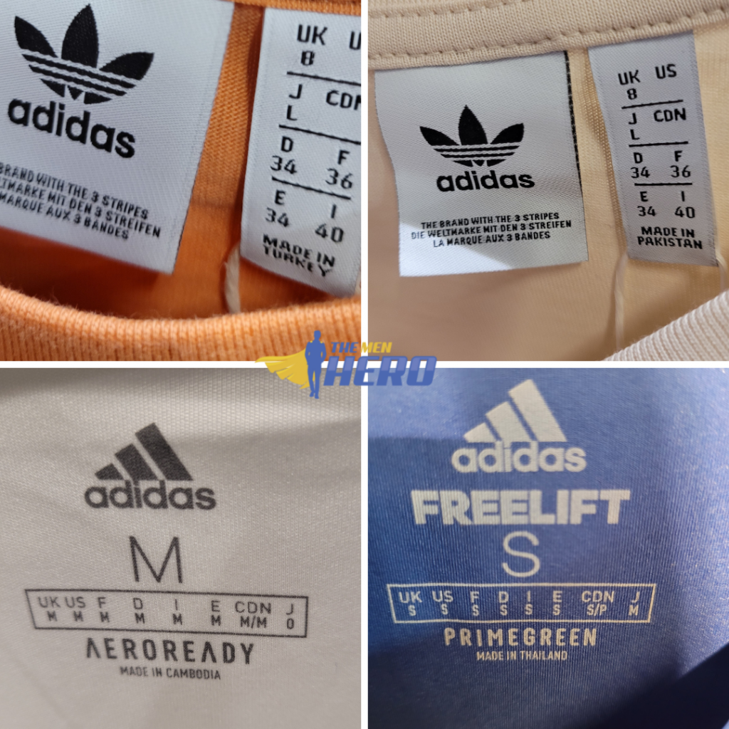 where is adidas manufactured