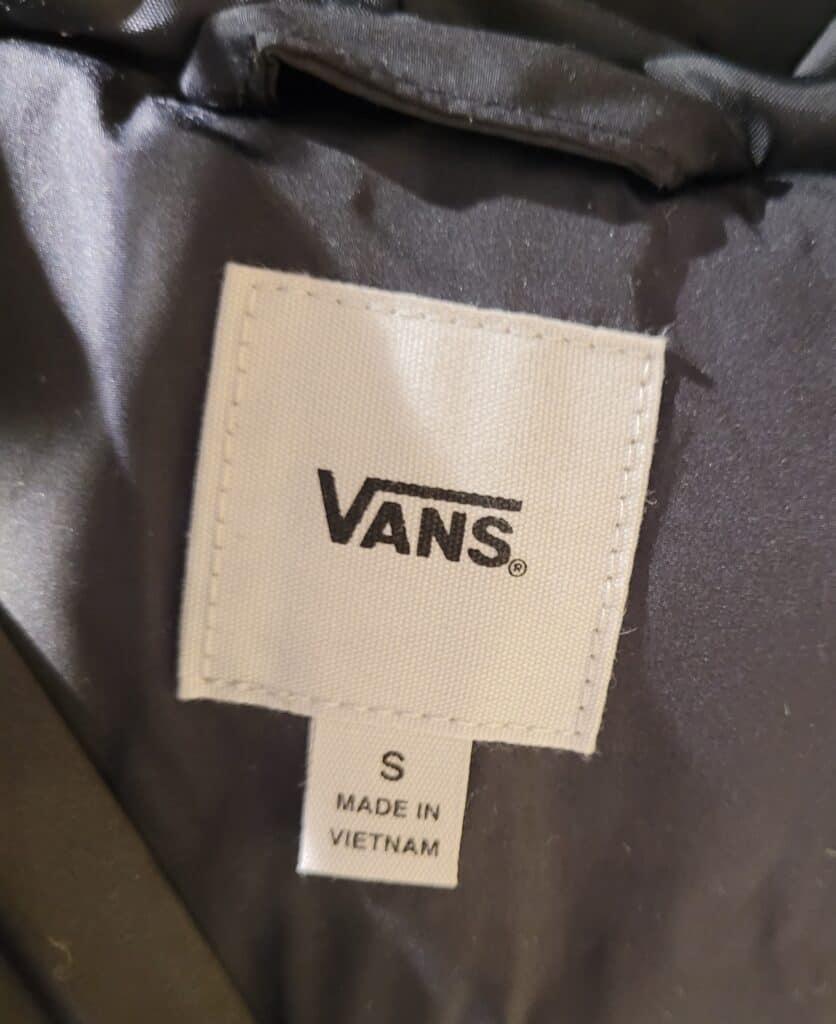 are Vans made in Vietnam