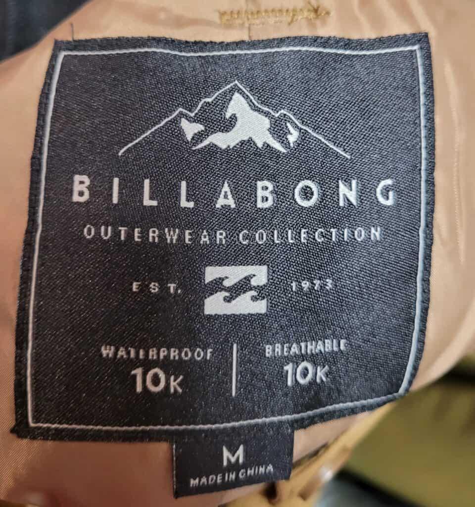 Is Billabong Made In China