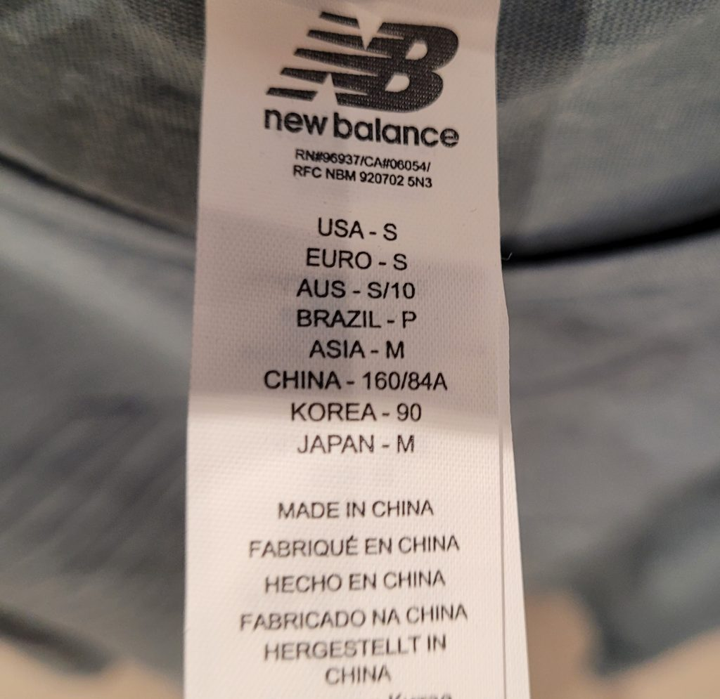 Is New Balance Made In China