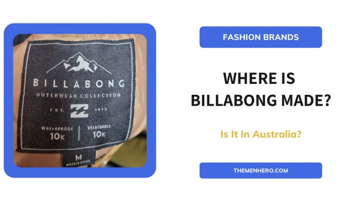 Where Is Billabong Manufactured