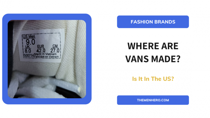 Where are Vans Made