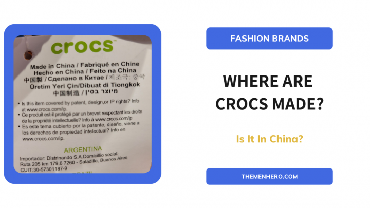 where are crocs manufactured